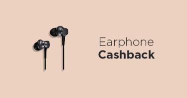 Earphone Cashback