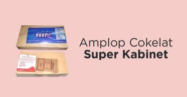 Jual Amplop Coklat Super Kabinet dengan Harga Terbaik dan Terlengkap