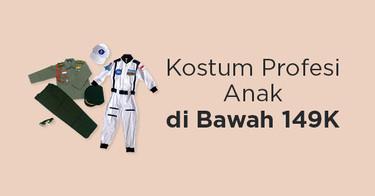 Kostum Profesi Anak Kabupaten Bogor