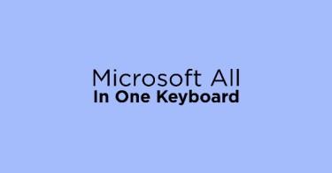Microsoft All In One Keyboard