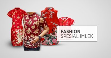 Fashion Spesial Imlek