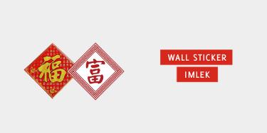 Wall Sticker Imlek