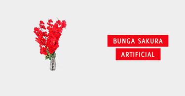 Bunga Sakura Artificial Bandung