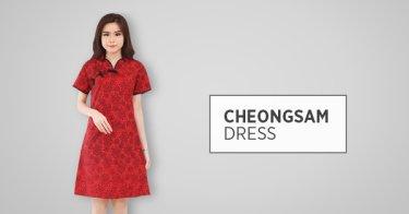 Cheongsam Dress Kabupaten Bogor