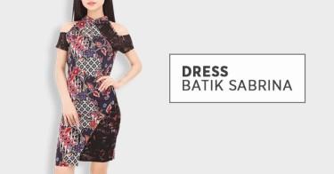 Dress Batik Sabrina Bandung