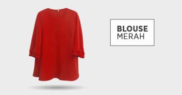 Blouse Merah Kabupaten Tangerang