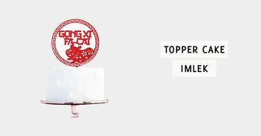 Topper Cake Imlek
