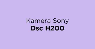 Jual Kamera Sony Dsc H200 dengan Harga Terbaik dan Terlengkap