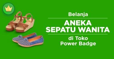 Sepatu Wanita Power Badge