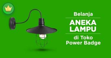 Lampu Power Badge