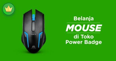 Mouse Power Badge