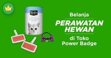 Perawatan Hewan Power Badge
