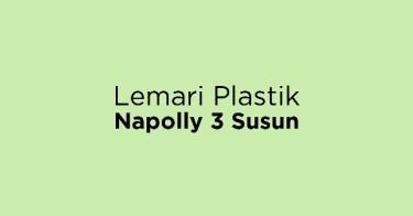 Lemari Plastik Napolly 3 Susun