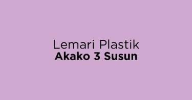 Lemari Plastik Akako 3 Susun