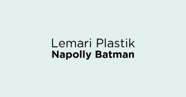 Lemari Plastik Napolly Batman