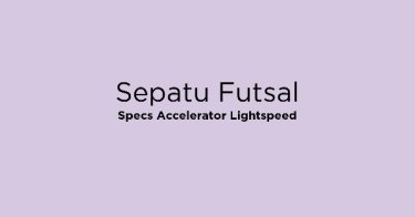 Sepatu Futsal Specs Accelerator Lightspeed