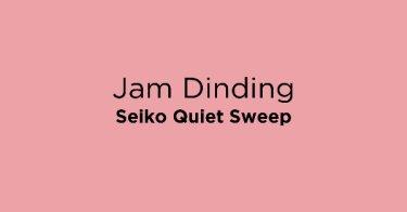 Jam Dinding Seiko Quiet Sweep