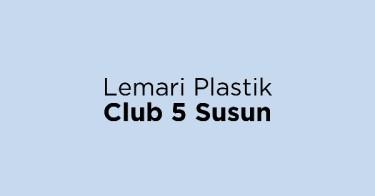 Jual Lemari Plastik Club 5 Susun dengan Harga Terbaik dan Terlengkap