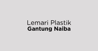 Lemari Plastik Gantung Naiba