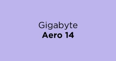 Jual Gigabyte Aero 14 dengan Harga Terbaik dan Terlengkap