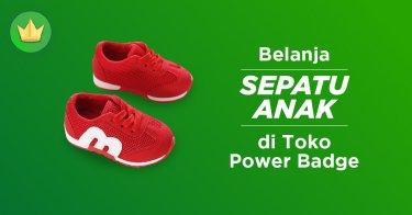 Jual Sepatu Anak Power Badge  418ae55105