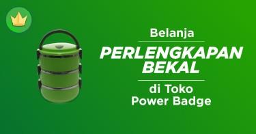 Perlengkapan Bekal Power Badge