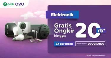 Elektronik OVO x Grab