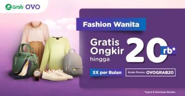 Fashion Wanita OVO x Grab