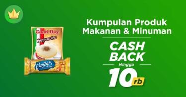 Makanan & Minuman Cashback