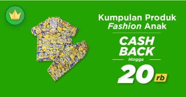 Fashion Anak Cashback