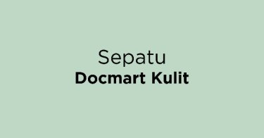 Sepatu Docmart Kulit Bandung