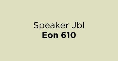 Speaker Jbl Eon 610