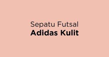 Sepatu Futsal Adidas Kulit