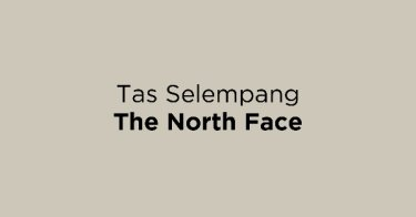 Jual Tas Selempang The North Face dengan Harga Terbaik dan Terlengkap