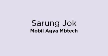 Sarung Jok Mobil Agya Mbtech