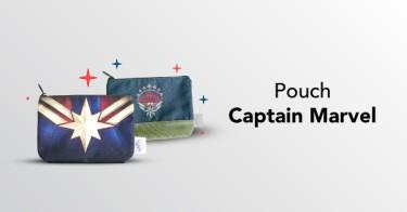 Pouch Captain Marvel