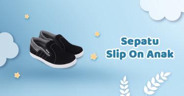 Sepatu Slip On Anak Bandung