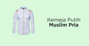 Kemeja Putih Muslim Pria DKI Jakarta