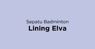 Sepatu Badminton Lining Elva