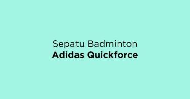 Sepatu Badminton Adidas Quickforce