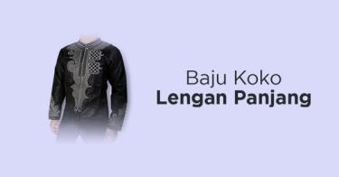Baju Koko Lengan Panjang Depok