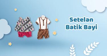 Setelan Batik Bayi