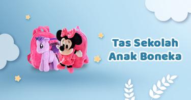 Tas Sekolah Anak Boneka Kabupaten Bogor