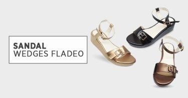 Sandal Wedges Fladeo