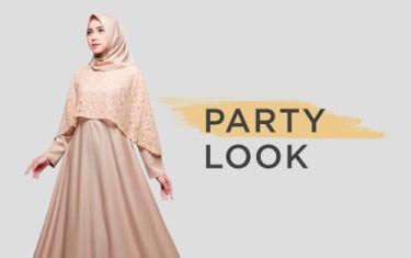 Party Look Fashion Muslim
