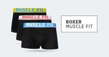 Boxer Muscle Fit