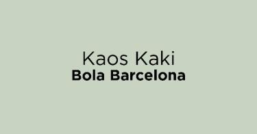 Kaos Kaki Bola Barcelona