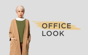 office look fashion muslim