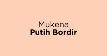 Mukena Putih Bordir Kabupaten Bogor