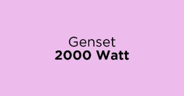 Genset 2000 Watt